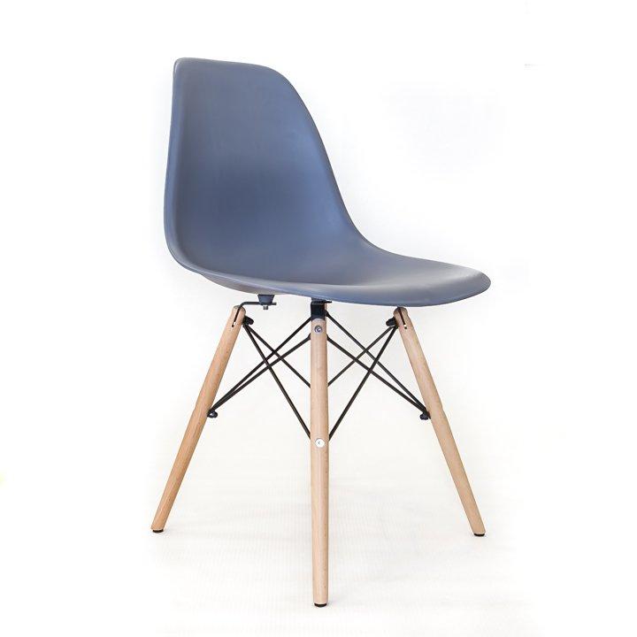Eames Bureaustoel Replica.Eames Replica Eetkamerstoel Grijs Bestel Online Bij Design