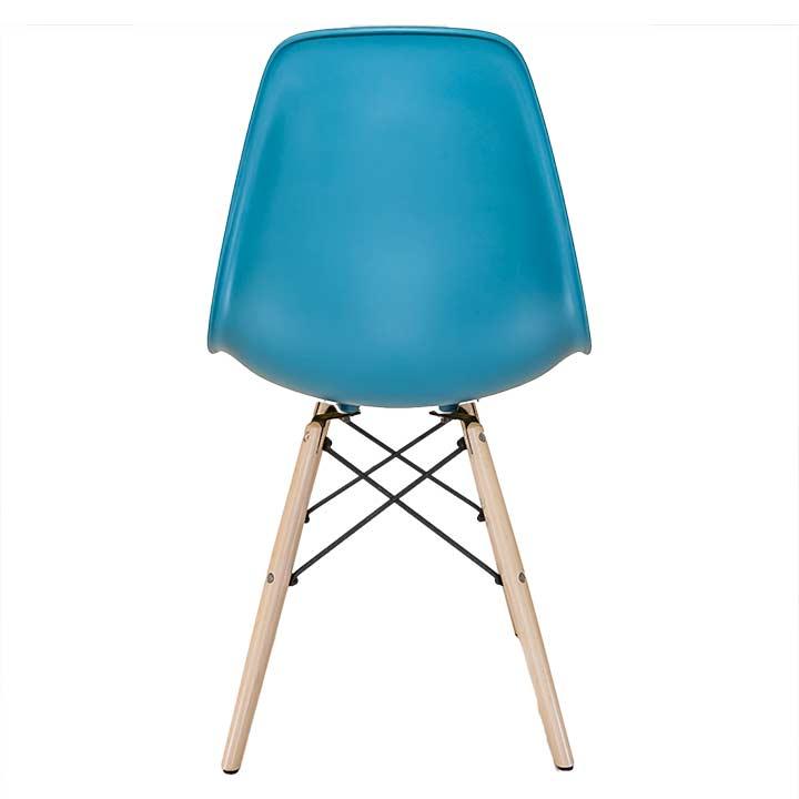 Eames Bureaustoel Kopie.Eames Replica Eetkamerstoel Petrol Blauw Bestel Bij Design