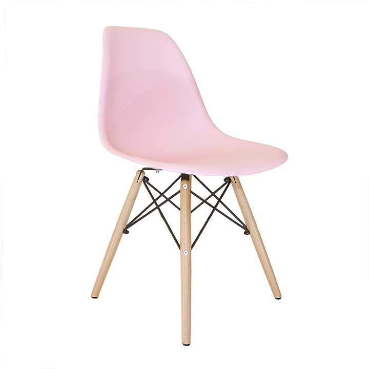 Namaak Design Stoelen.Replica Eames Stoel Zonder Armleuning Roze Design Stoelen Nl
