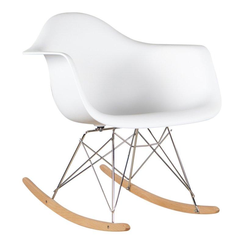 Eames replica schommelstoel wit bestel online bij for Schommelstoel eames replica