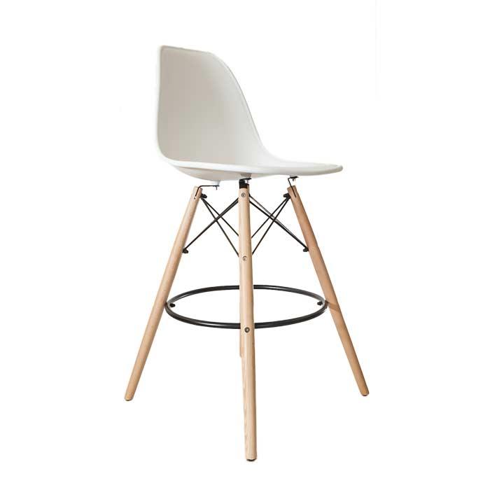 Design Stoelen Replica Eames.Eames Replica Barkruk Wit Bestel Online Bij Design Stoelen Nl