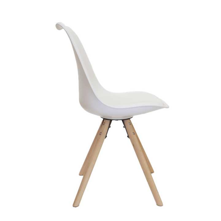 Eames replica eetkamer kuipstoel - bruin   Bestel bij design-stoelen.nl