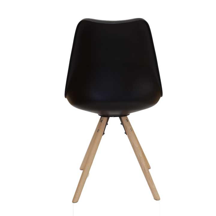 Eames replica eetkamer kuipstoel - bruin | Bestel bij design-stoelen.nl
